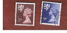 GRAN BRETAGNA (UNITED KINGDOM) - SG S24.28 REGIONAL ISSUES - 1978 SCOTLAND: QUEEN ELIZABETH   - USED° - Regionali