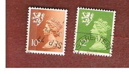 GRAN BRETAGNA (UNITED KINGDOM) - SG S30.33 REGIONAL ISSUES - 1980 SCOTLAND: QUEEN ELIZABETH   - USED° - Regionali