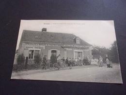 M/  72 RARE ARNAGE HOTEL DU SOLEIL D OR TENU PAR MAILLARD EPICERIE ROUENNERIE HUILES... 1920 ECRITE - Otros Municipios