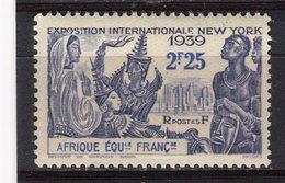 AFRIQUE EQUATORIALE FRANCAISE - Y&T N° 71* - Exposition Internationale De New York - A.E.F. (1936-1958)