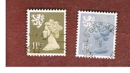 GRAN BRETAGNA (UNITED KINGDOM) - SG S36.40 REGIONAL ISSUES - 1981 SCOTLAND: QUEEN ELIZABETH   - USED° - Regionali