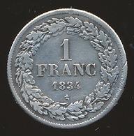 BELGIE LEOPOLD I   1 FRANC  1834   PRACHTIGE STAAT 4 SCANS - 1831-1865: Léopold I