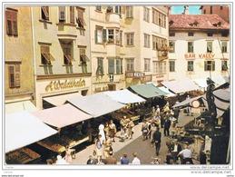BOLZANO:  LA  PIAZZA  DELLE  ERBE  -  PER  LA  SVIZZERA  -  FG - Piazze Di Mercato