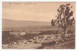 Liban - Lebanon - BAALBECK - Vue Générale - édit. Du Levant (voyagée En 1925) - Liban