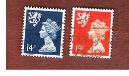 GRAN BRETAGNA (UNITED KINGDOM) - SG S54.62 REGIONAL ISSUES - 1988 SCOTLAND: QUEEN ELIZABETH   - USED° - Regionali