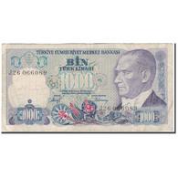 Billet, Turquie, 1000 Lira, 1970, KM:196, TB - Turquie