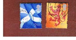 GRAN BRETAGNA (UNITED KINGDOM) - SG S94.95 REGIONAL ISSUES - 1999 SCOTLAND:    - USED° - Regionali