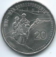 Australia - Elizabeth II - 20 Cents - 2015 - War Correspondents - Monnaie Décimale (1966-...)
