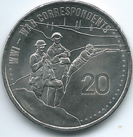 Australia - Elizabeth II - 20 Cents - 2015 - War Correspondents - Decimal Coinage (1966-...)