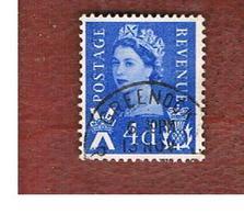 GRAN BRETAGNA (UNITED KINGDOM) - SG S8 REGIONAL ISSUES - 1966 SCOTLAND: QUEEN ELIZABETH 4 BLUE  - USED° - Regionali