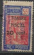 CAMEROUN FISCAL OBL - Oblitérés