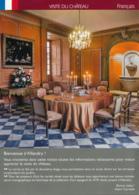 Dépliant Touristique : Château De Villandry, Visite (37, Indre-et-Loire) 4 Volets, Recto-Verso (15 Cm Sur 21 Cm) - Dépliants Touristiques