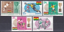 Ghana 1966 Sport Spiele Fußball Football Soccer FIFA England Weltmeisterschaft Championship WM, Mi. 269-3 ** - Ghana (1957-...)