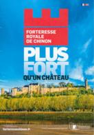 Dépliant Touristique : Forteresse Royale De Chinon (37, Indre-et-Loire) 4 Volets, Recto-Verso (15 Cm Sur 21 Cm) - Dépliants Touristiques
