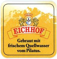 Schweiz. Luzern. Eichhof. Gebraut Mit Frischem Quellwasser Vom Pilatus. Switserland. Suisse. - Portavasos