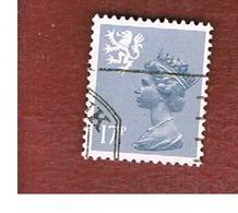 GRAN BRETAGNA (UNITED KINGDOM) - SG S43 REGIONAL ISSUES - 1984 SCOTLAND: QUEEN ELIZABETH 17  - USED° - Regionali