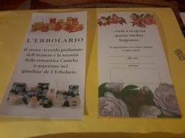 L Erbolario  Presentation Camelia Accordo Abbrancio Wi - Cartes Parfumées