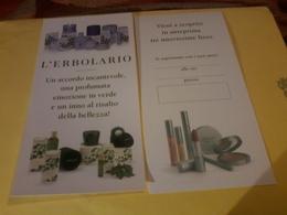 L Erbolario  Presentation Viola Hedera Wi - Cartes Parfumées