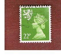 GRAN BRETAGNA (UNITED KINGDOM) - SG S48 REGIONAL ISSUES - 1984 SCOTLAND: QUEEN ELIZABETH 22 GREEN  - USED° - Regionali