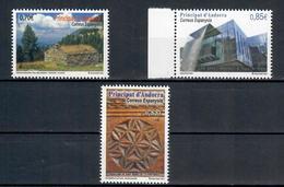 ANDORRA  SPAGNOLA 2012 - EUROPA - ARCHITETTURA - PATRIMONIO CULTURALE - MNH ** - Andorra Spagnola