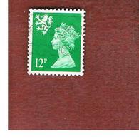 GRAN BRETAGNA (UNITED KINGDOM) - SG 37 REGIONAL ISSUES - 1986 SCOTLAND: QUEEN ELIZABETH 12 GREEN - USED° - Regionali