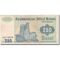 Billet, Azerbaïdjan, 250 Manat, KM:13b, TB - Azerbaïjan