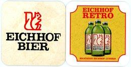 Schweiz. Eichhof Bier. Eichhof Retro. Brauerei Eichhof Luzern. Switserland. Suisse. - Portavasos