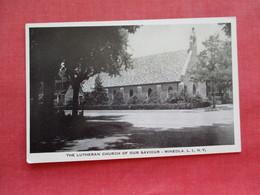 The Lutheran Church Of Our Saviour  Mineola  Long Island New York  .  Ref 3276 - Long Island