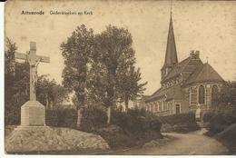 Attenrode Gedenkteeken En Kerk  (1397) - Glabbeek-Zuurbemde