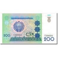 Billet, Uzbekistan, 200 Sum, 1997, KM:80, NEUF - Uzbekistan
