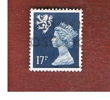 GRAN BRETAGNA (UNITED KINGDOM) - SG S58 REGIONAL ISSUES - 1990 SCOTLAND: QUEEN ELIZABETH 17 - USED° - Regionali