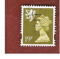 GRAN BRETAGNA (UNITED KINGDOM) - SG S81 REGIONAL ISSUES - 1993 SCOTLAND: QUEEN ELIZABETH 19 BISTRE    - USED° - Regionali
