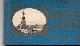 93Maj   Egypte Ismaïlia And Suez Carnet De 11/12 Cpa - Ismailia