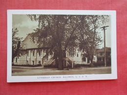 Lutheran Church Baldwin   New York > Long Island  .  Ref 3276 - Long Island