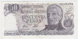Argentina P 301 A - 50 Pesos 1976 1978 - AUNC - Argentina
