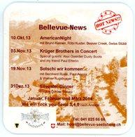 Schweiz. Eichhof. Luzern. Hotel Bellevue Seelisberg (Uri). 2013: American Night, Krüger Brothers In Concert, Sotschi... - Portavasos