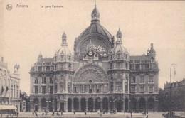 CARTOLINA - POSTCARD - BELGIO - ANVERS - LA GARE CENTRALE - Antwerpen