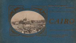 93Maj   Egypte Le Caire Carnet De 9/12 Cpa - Cairo