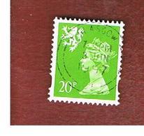 GRAN BRETAGNA (UNITED KINGDOM) - SG S83 REGIONAL ISSUES - 1996 SCOTLAND: QUEEN ELIZABETH 20 GREEN    - USED° - Regionali