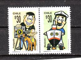 Cile  -  2008. Fotografo  E  Venditore Ambulante. Photographer And Street Vendor. - Professioni