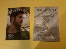 1 Carte Postale Italiane Bulgari - Cartes Parfumées