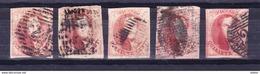 België Kleine Verzameling Medaillon Nr 40c  Rood, Zeer Mooi Lot Krt 3471 - Stamps