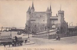 CARTOLINA - POSTCARD - BELGIO - ANVERS - MUEE D' ANTIQUITES DU STEEN - Antwerpen