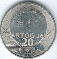 Australia - Elizabeth II - 20 Cents - 2016 - 400th Anniversary Of Dick Hartog Landing - Frosted UNC - Only 20,000 Minted - Monnaie Décimale (1966-...)