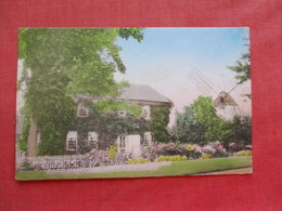 Hand Colored-- Birth Place John Howard Payne  East Hampton   New York > Long Island  .  Ref 3276 - Long Island