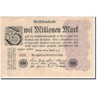 Billet, Allemagne, 2 Millionen Mark, 1923, KM:104a, TTB+ - [ 3] 1918-1933 : République De Weimar