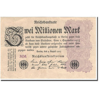 Billet, Allemagne, 2 Millionen Mark, 1923, KM:104a, TTB+ - [ 3] 1918-1933 : Repubblica  Di Weimar
