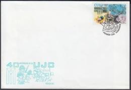 2002-FDC-61 CUBA FDC 2002 40 ANIV UJC, ERNESTO CHE GUEVARA. - FDC
