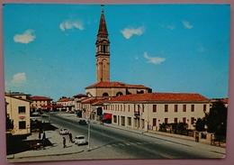 FOSSALTA DI PIAVE (Venezia) - Piazza Della Vittoria - Chiesa, Ufficio Postale - Vg V2 - Venezia (Venice)