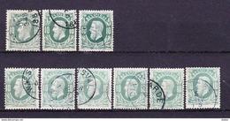 België 1869 Nr 30 Varia Nuance En Stempels,zeer Mooi Lot Krt 3476, KOOPJE ,   Zie Ook Andere Mooie Loten - Sellos